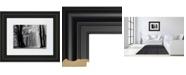 """Classy Art Winter Is Coming by Lars Van De Goor Framed Print Wall Art - 34"""" x 40"""""""