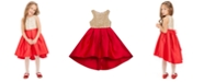 Rare Editions Toddler Girls Embellished High-Low Dress