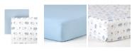 Tadpoles 2 Piece Microfiber Crib Fitted Sheet