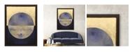 "Paragon Blue Sphere II Framed Wall Art, 53"" x 41"""