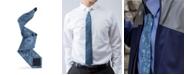 Modern Tie Men's Silk Rose Floral Slim Single Tie