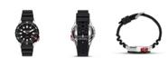 Columbia Men's Pacific Outlander Black Silicone Strap Watch 42mm