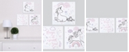 Trend Lab Magical Unicorn Canvas Wall Art 3-Pack