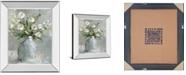"Classy Art Country Bouquet I by Carol Robinson Mirror Framed Print Wall Art, 22"" x 26"""