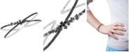 Macy's Diamond Star Bangle Bracelet (1-1/2 ct. t.w.) in 10k White Gold