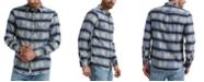 Lucky Brand Men's Silver City Double Weave Shirt