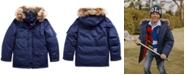 Polo Ralph Lauren Big Boys Faux Fur–Trim Down Parka