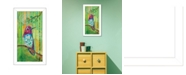 "Trendy Decor 4U Trendy Decor 4U Anna's Hummingbird By Lisa Morales, Printed Wall Art, Ready to hang, White Frame, 8"" x 14"""