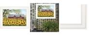 "Trendy Decor 4U Sunshine by Billy Jacobs, Ready to hang Framed Print, White Frame, 19"" x 15"""