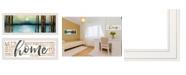"""Trendy Decor 4U V558-226G Love / Home 2-Piece Vignette by Marla Rae, White Frame, 39"""" x 15"""""""