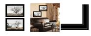 "Trendy Decor 4U Ohio Fields I 2-Piece Vignette by Lori Deiter, Black Frame, 21"" x 15"""
