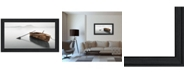 """Trendy Decor 4U Solitude by Moises Levy, Ready to hang Framed Print, Black Frame, 39"""" x 21"""""""