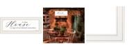 "Trendy Decor 4U A Clean House by Lori Deiter, Ready to hang Framed Print, White Frame, 23"" x 11"""