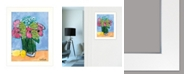 "Trendy Decor 4U Trendy Decor 4U Kitchen Table Series II by Kait Roberts, Ready to hang Framed Print, White Frame, 15"" x 19"""