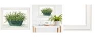 "Trendy Decor 4U Farm Market by Cindy Jacobs, Ready to hang Framed Print, White Frame, 19"" x 15"""