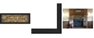 "Trendy Decor 4U Amazing Grace By Gail Eads, Printed Wall Art, Ready to hang, Black Frame, 23"" x 8"""