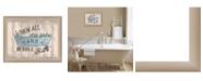 "Trendy Decor 4U Take a Bubble Bath By Debbie DeWitt, Printed Wall Art, Ready to hang, Beige Frame, 18"" x 14"""