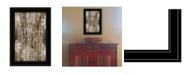 "Trendy Decor 4U Tis the season Snowflakes by Cindy Jacobs, Ready to hang Framed Print, Black Frame, 11"" x 15"""