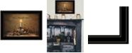 "Trendy Decor 4U Love, Warmth, Home by Robin-Lee Vieira, Ready to hang Framed Print, Black Frame, 21"" x 15"""