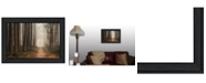 """Trendy Decor 4U Quiet By Martin Podt, Printed Wall Art, Ready to hang, Black Frame, 21"""" x 15"""""""