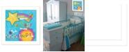 "Trendy Decor 4U Dream For Tomorrow By Mollie B., Printed Wall Art, Ready to hang, White Frame, 14"" x 14"""