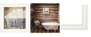 """Trendy Decor 4U Wash by Misty Michelle, Ready to hang Framed Print, White Frame, 15"""" x 15"""""""