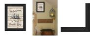 "Trendy Decor 4U Friendship Journey by Millwork Engineering, Ready to hang Framed Print, Black Frame, 11"" x 15"""