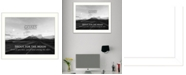"Trendy Decor 4U Goals By Trendy Decor4U, Printed Wall Art, Ready to hang, White Frame, 14"" x 18"""