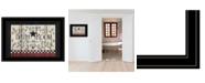 "Trendy Decor 4U Bath Room by Linda Spivey, Ready to hang Framed Print, Black Frame, 19"" x 15"""