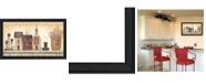 "Trendy Decor 4U Trendy Decor 4U Faith Hope and Love By Linda Spivey, Printed Wall Art, Ready to hang, Black Frame, 33"" x 19"""