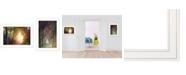 "Trendy Decor 4U Trendy Decor 4U Path of Happiness 2-Piece Vignette by Martin Podt, White Frame, 21"" x 15"""