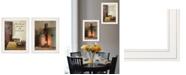 "Trendy Decor 4U What I Love Most 2-Piece Vignette by Susie Boyer, White Frame, 15"" x 19"""