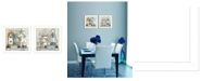 """Trendy Decor 4U Mary's Country Shelf Collection By Mary June, Printed Wall Art, Ready to hang, White Frame, 28"""" x 14"""""""