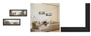 "Trendy Decor 4U Trendy Decor 4U Farms Collection By John Rossini, Printed Wall Art, Ready to hang, Black Frame, 42"" x 9"""