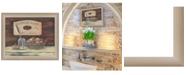 "Trendy Decor 4U Trendy Decor 4U HANDMADE SOAPS-by Pam Britton, Ready to hang Framed print, Taupe Frame, 17"" x 14"""