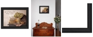 """Trendy Decor 4U Done in Love By SUSAn Boyer, Printed Wall Art, Ready to hang, Black Frame, 18"""" x 14"""""""