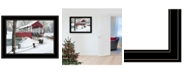 Trendy Decor 4U Trendy Decor 4U Crisp Winter Evening by Billy Jacobs, Ready to hang Framed Print Collection