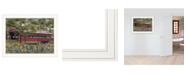 "Trendy Decor 4U Trendy Decor 4U Pottersburg Bridge by Billy Jacobs, Ready to hang Framed Print, White Frame, 27"" x 21"""