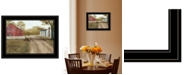 """Trendy Decor 4U Summer in the Country by Billy Jacobs, Ready to hang Framed Print, Black Frame, 19"""" x 15"""""""