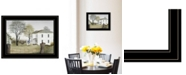 """Trendy Decor 4U Spring Cleaning by Billy Jacobs, Ready to hang Framed Print, Black Frame, 21"""" x 15"""""""