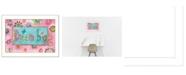"Trendy Decor 4U Dream Big By Bernadette Deming, Printed Wall Art, Ready to hang, White Frame, 14"" x 20"""