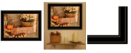 "Trendy Decor 4U Autumn Harvest by Anthony Smith, Ready to hang Framed Print, Black Frame, 19"" x 15"""