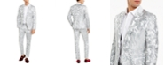 INC International Concepts INC Men's Slim-Fit Embroidered Floral Jacquard Suit Separates, Created For Macy's