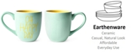 Coton Colors by Laura Johnson Mint Oh Happy Day Mug