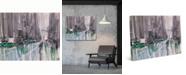 "Creative Gallery Rainy New York Streets 36"" x 24"" Canvas Wall Art Print"