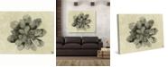 "Creative Gallery Neutral Succulent Cactus Watercolor 36"" x 24"" Canvas Wall Art Print"