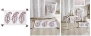 Peri Textured Paisley Bath Rug