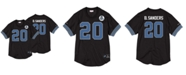 Mitchell & Ness Men's Barry Sanders Detroit Lions Name & Number Mesh Crewneck Top