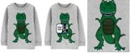 Carter's Toddler Boys Cotton Dinosaur Long-Sleeve T-Shirt