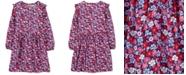 Carter's Big Girls Floral-Print Ruffled Dress